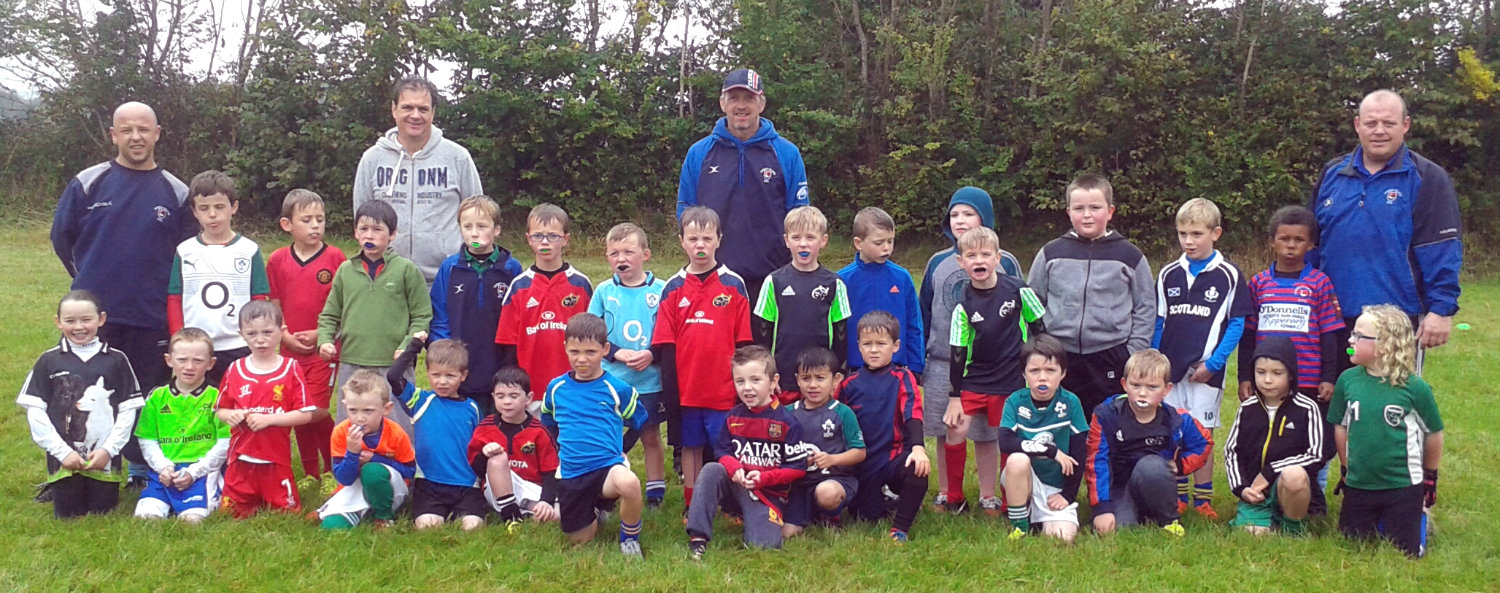 Our Latest Recruits, Under 7's and 8's.